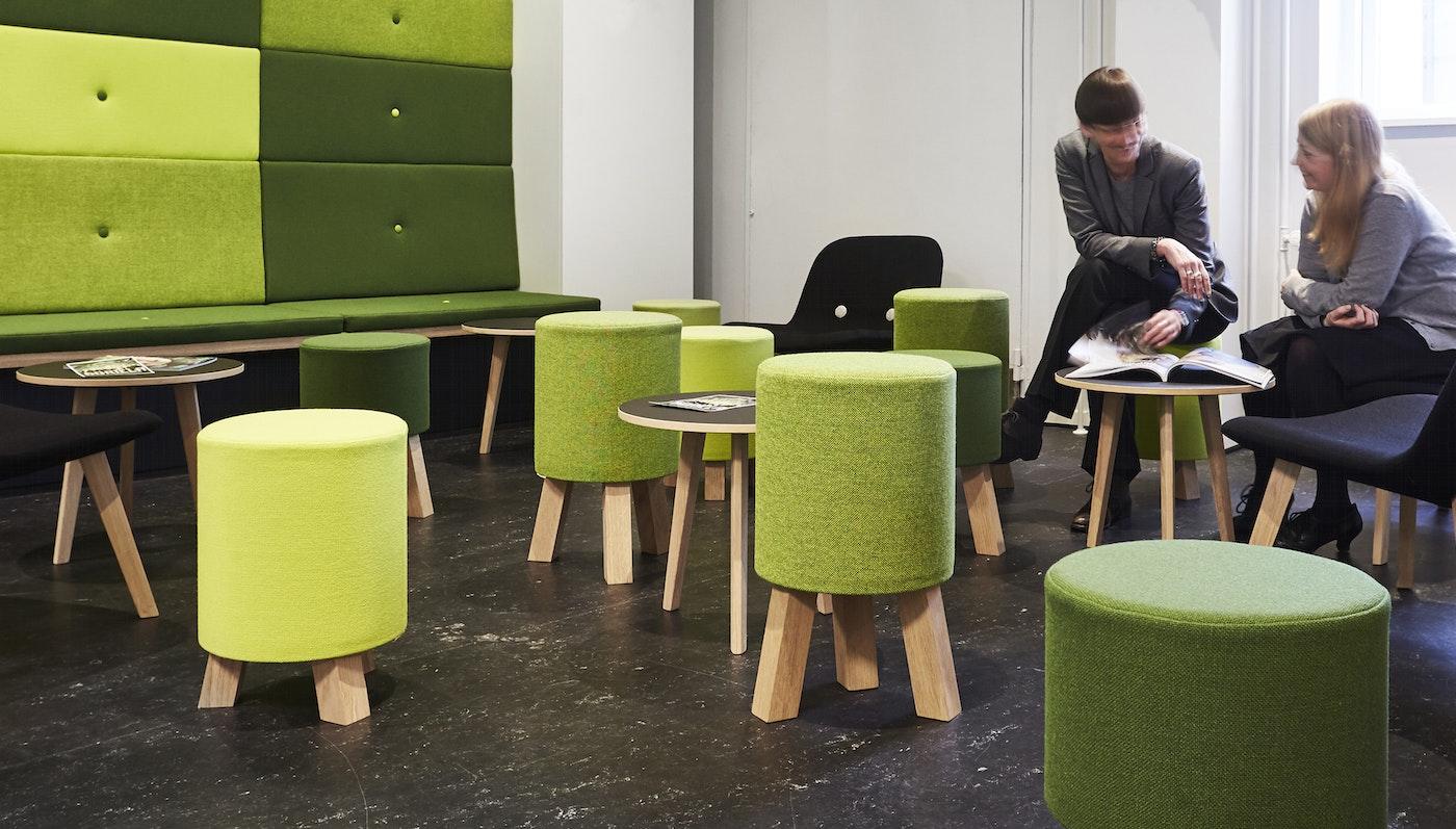 FRIIS & MOLTKE Design indretter Midtbyens Gymnasium i Viborg