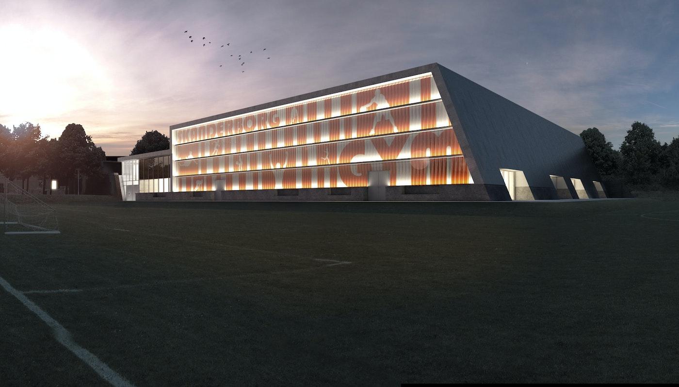 Idrætshal Skanderborg Gymnasium