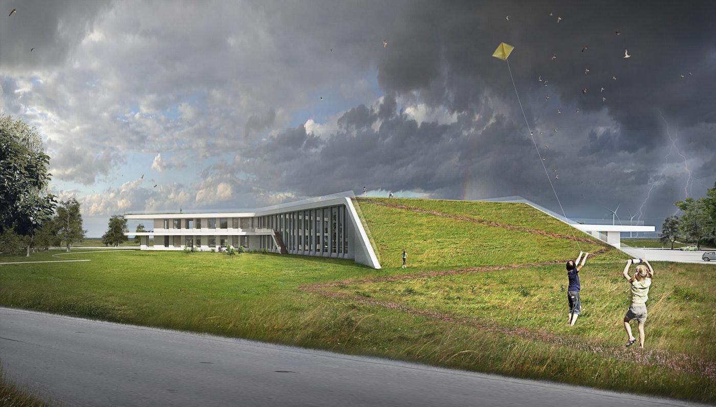 Administration building, Esbjerg