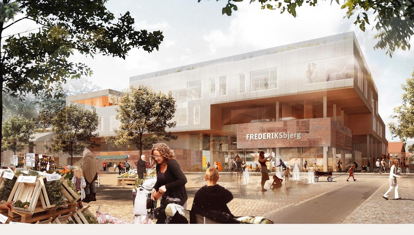 Frederiksbjerg urban school