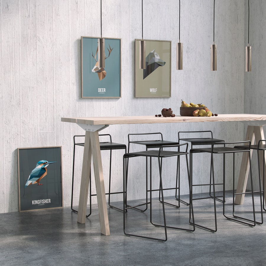 Timber table, Getama