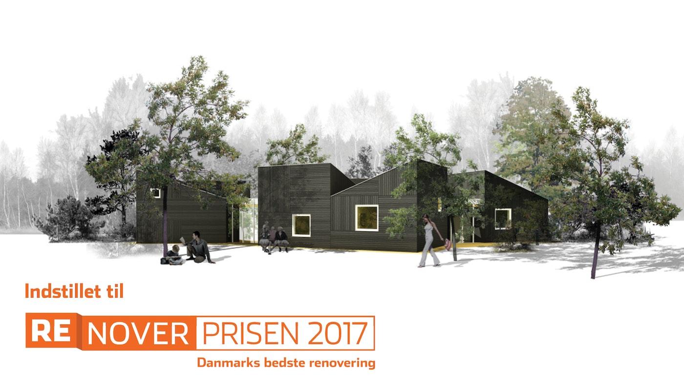 Dronningens Ferieby indstillet til Renoverprisen 2017