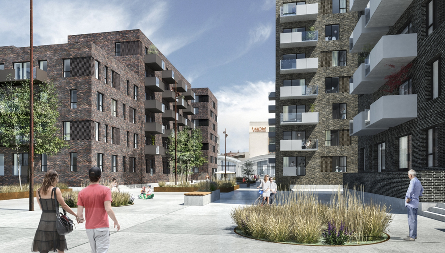 240 lejligheder opføres i centrum af Aalborg