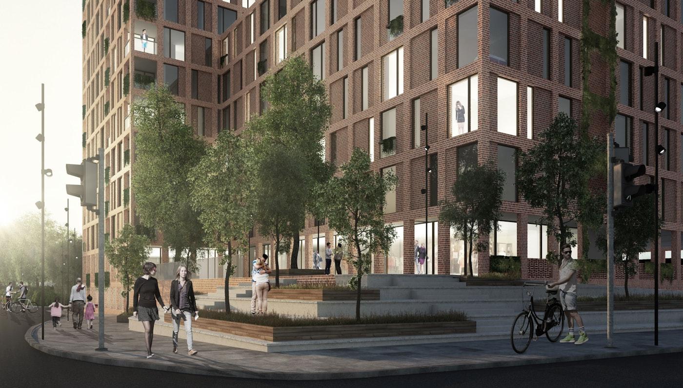 FRIIS & MOLTKE vinder konkurrence om opførelsen af ca. 150 boliger i Aalborg