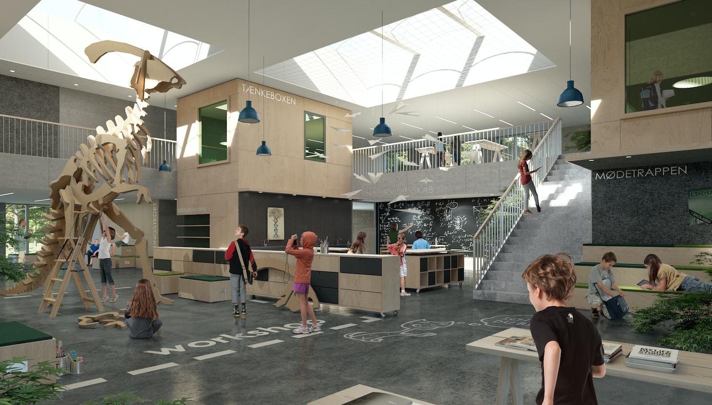 FRIIS & MOLTKE prækvalificeret til forslag på en ny skole i Skærbæk