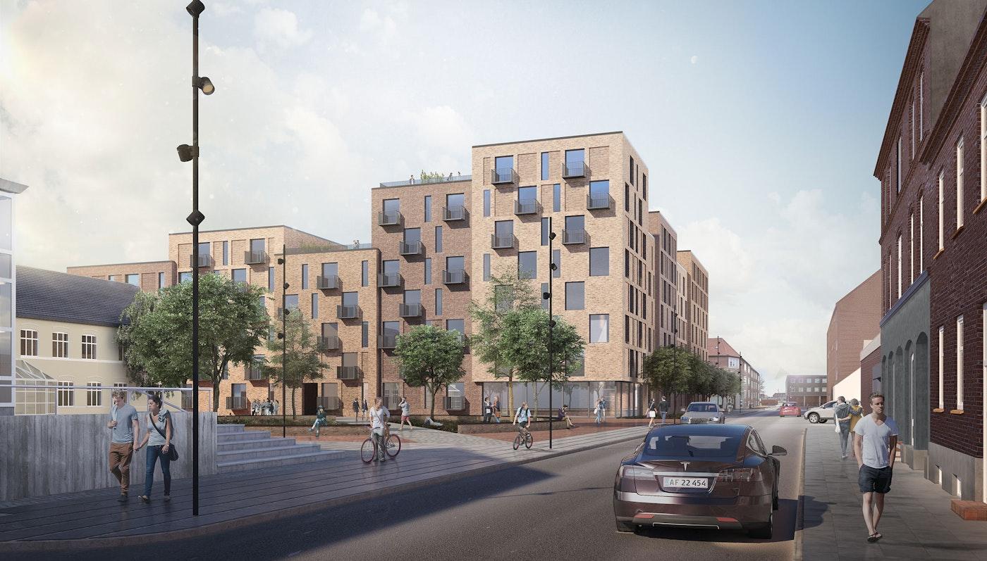 Housing, Museumspladsen, Esbjerg