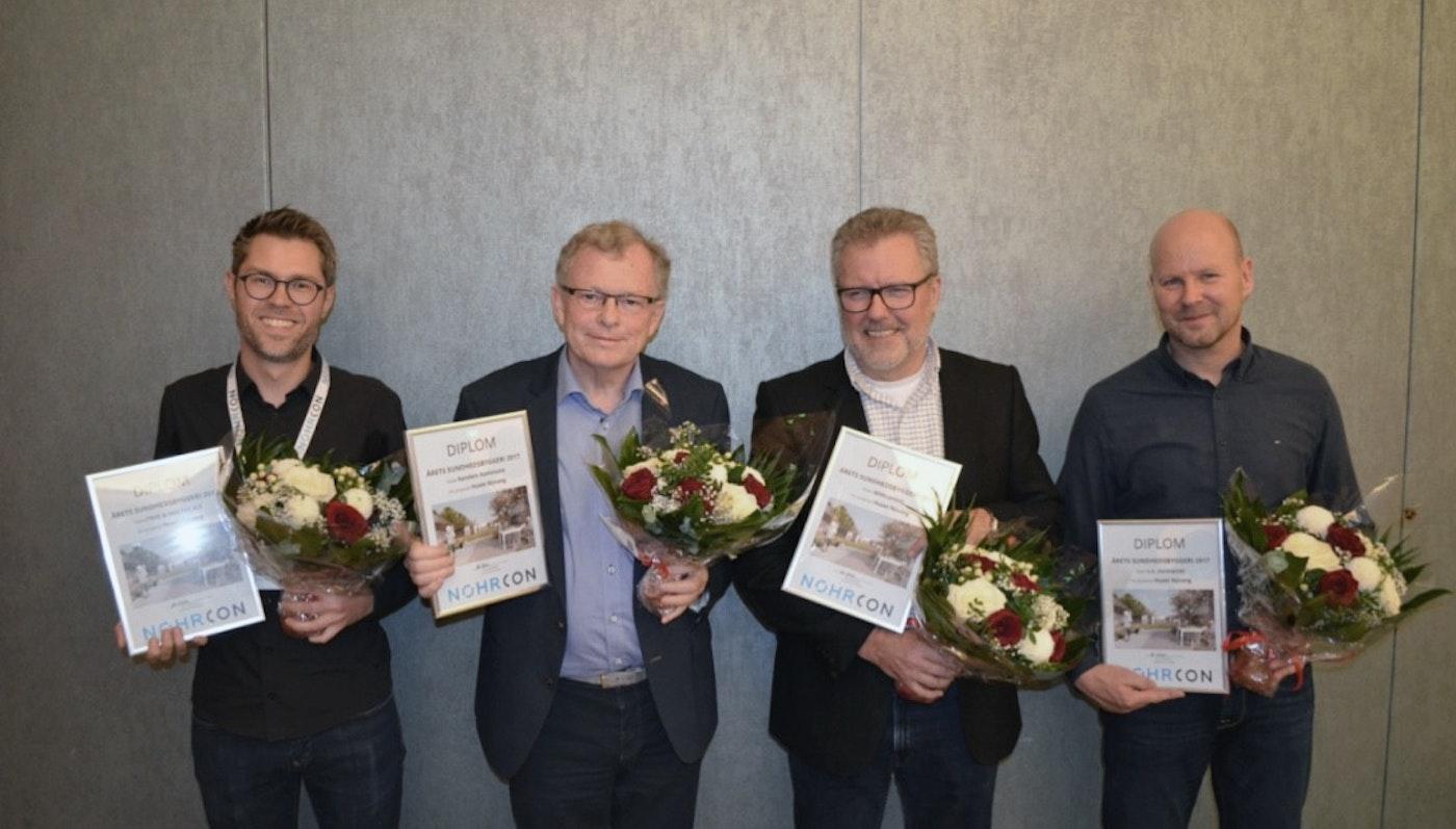 """HUSET NYVANG kåret som """"Årets Sundhedsbyggeri 2017"""""""
