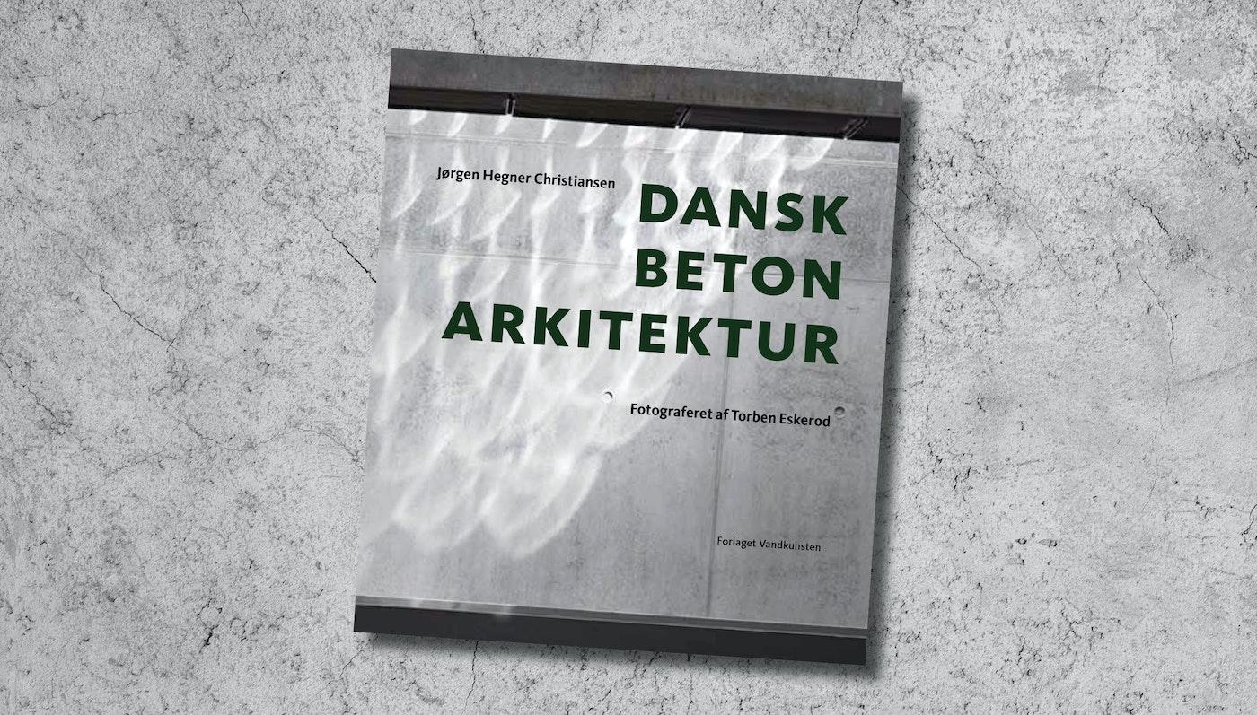 Entreprenørskolen i bog om dansk betonarkitektur