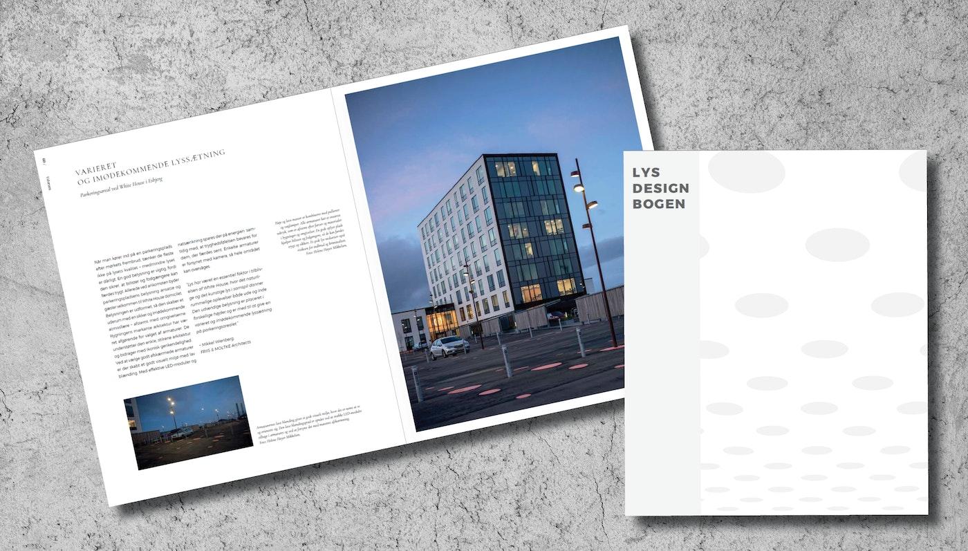 White House i Esbjerg i Lysdesignbogen