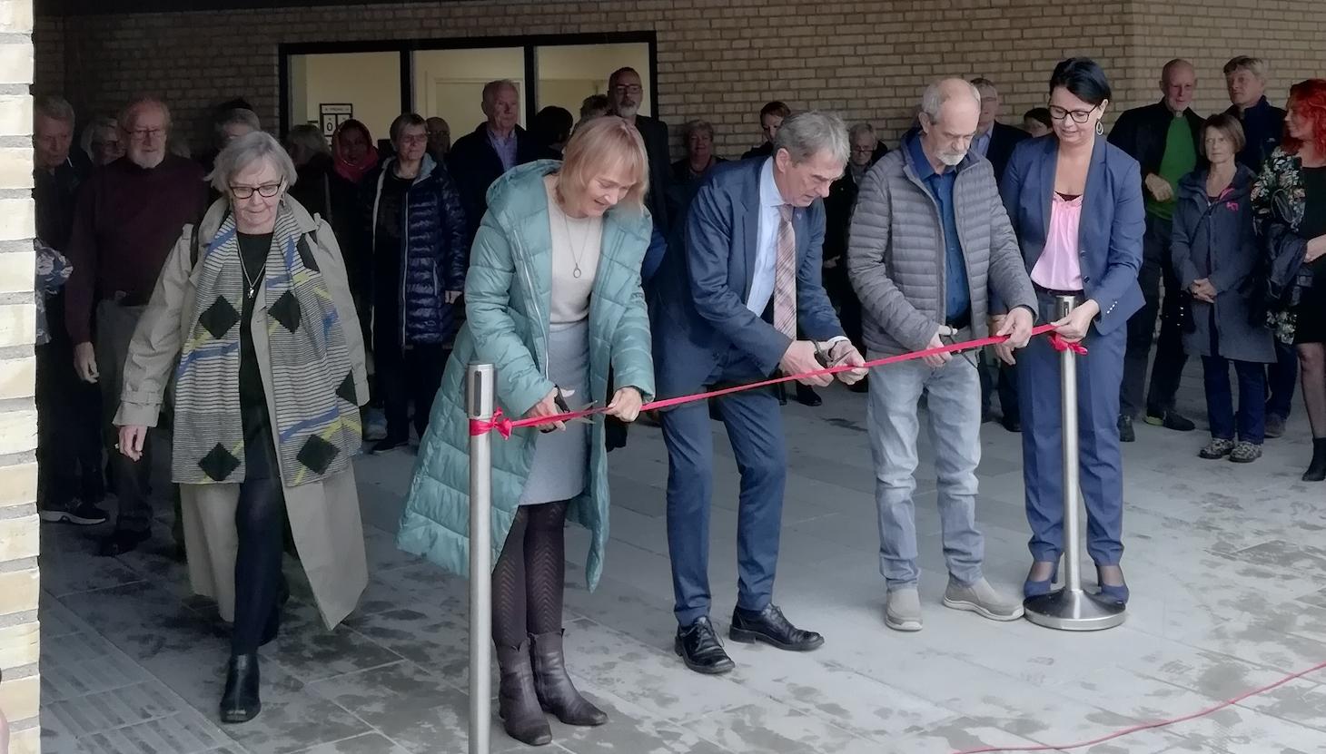 Indvielse af Tornhøjhaven, Aalborg