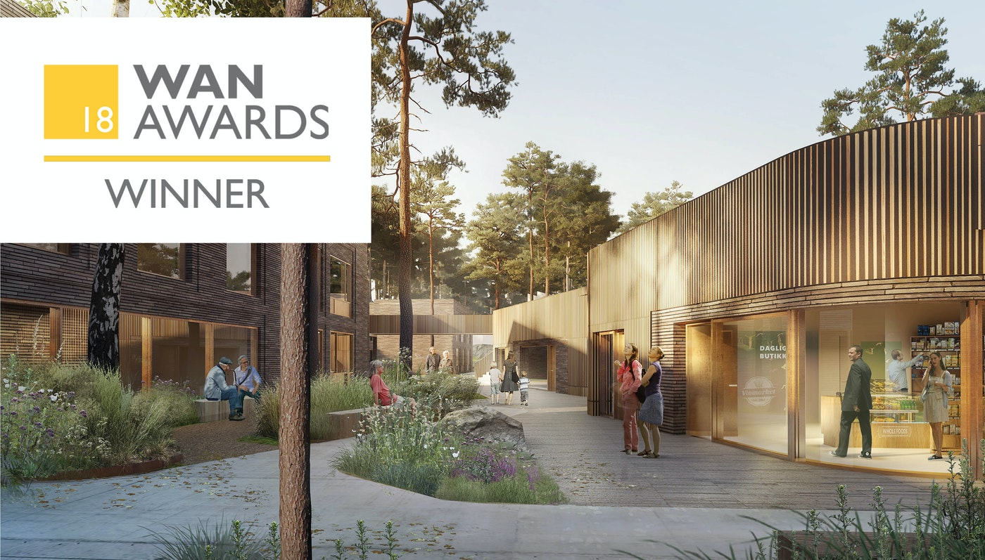 Strømmehaven vinder WAN Award 2018