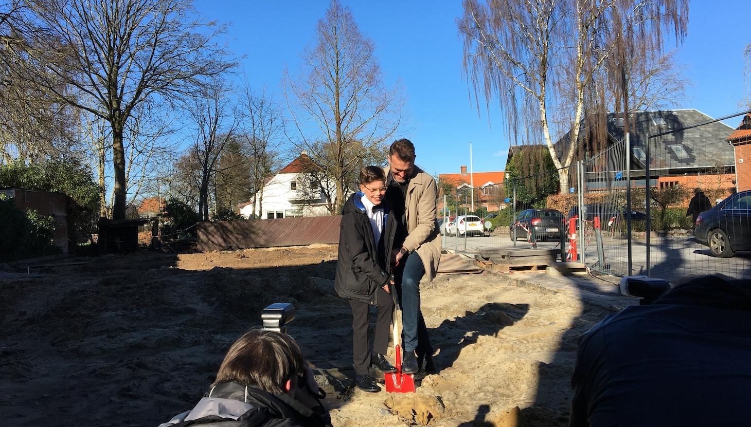 Første spadestik til Herning Kirkehus
