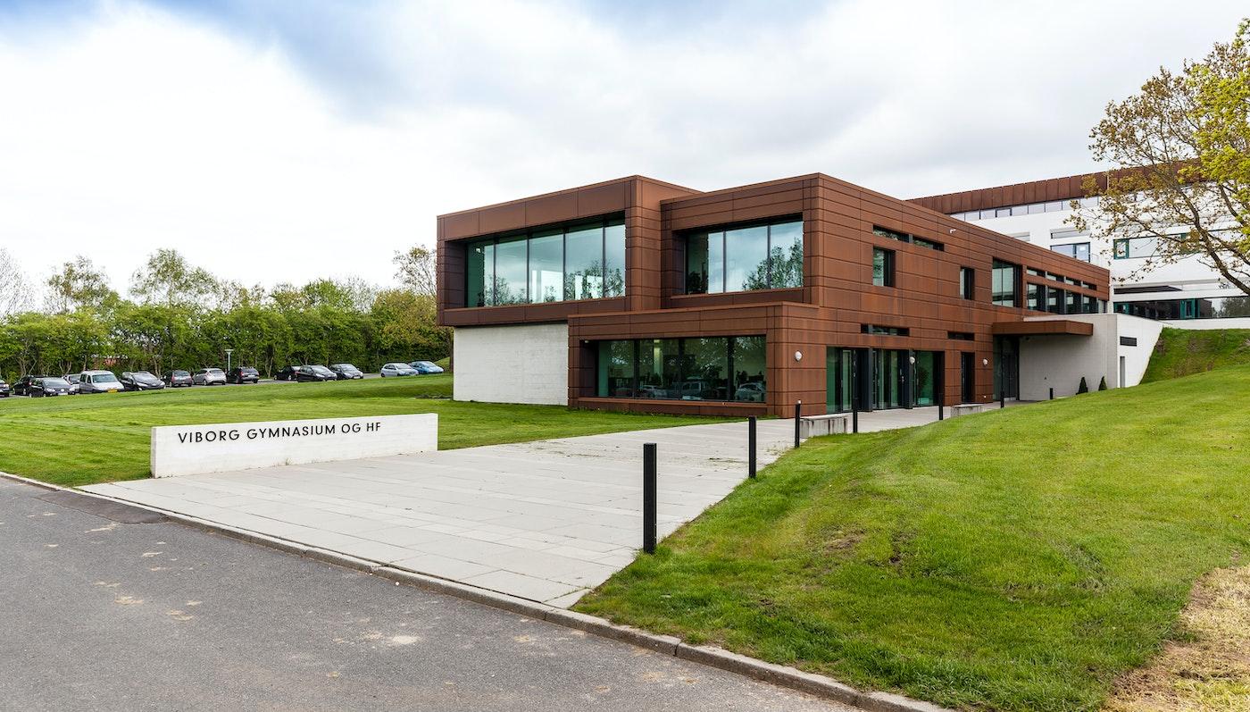 Viborg Gymnasium, administrationsbygning