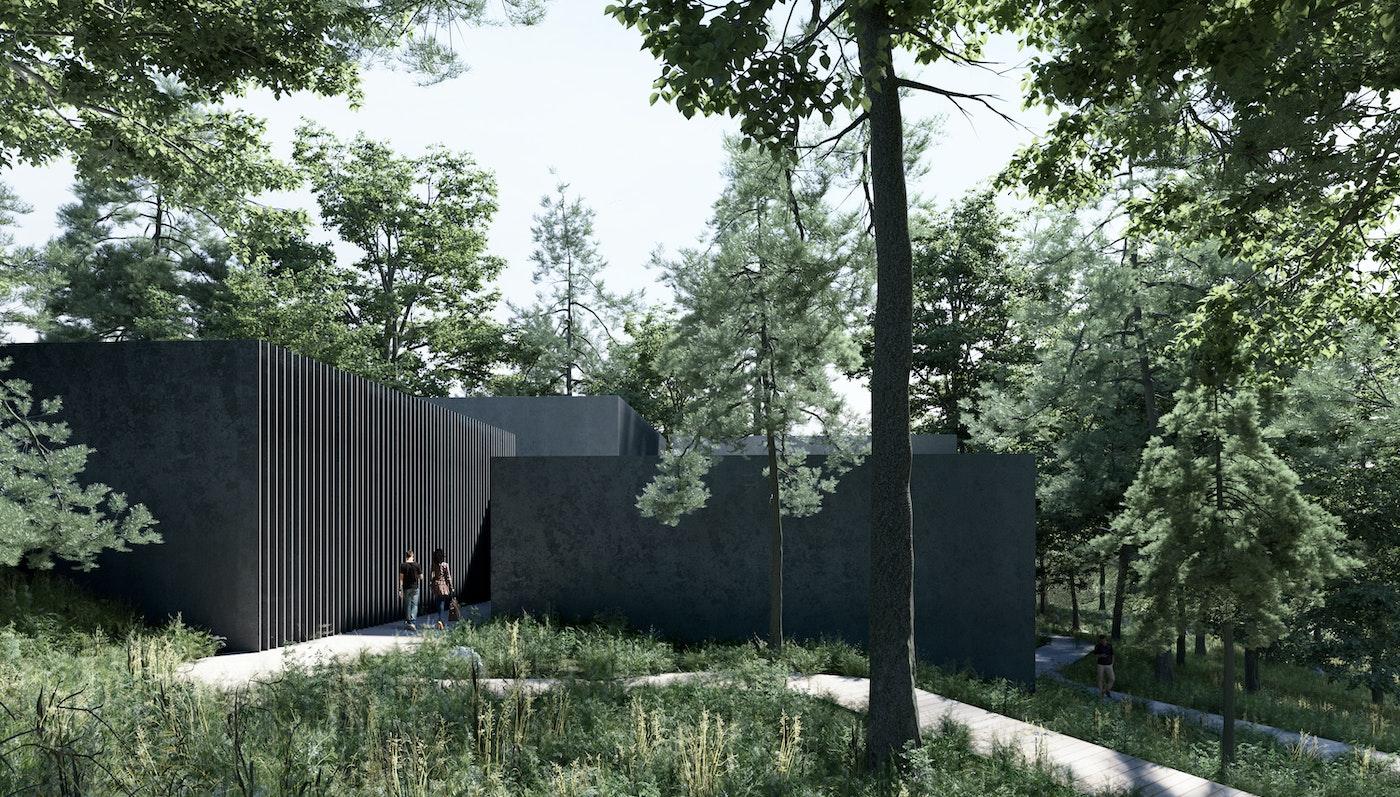Videre i konkurrencen om Velkomstbygning ved bunkeranlægget, Regan Vest
