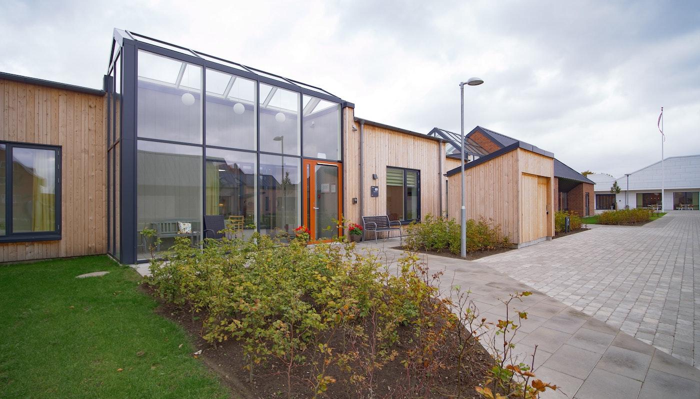 Huset Nyvang, Demensplejehjem i Randers