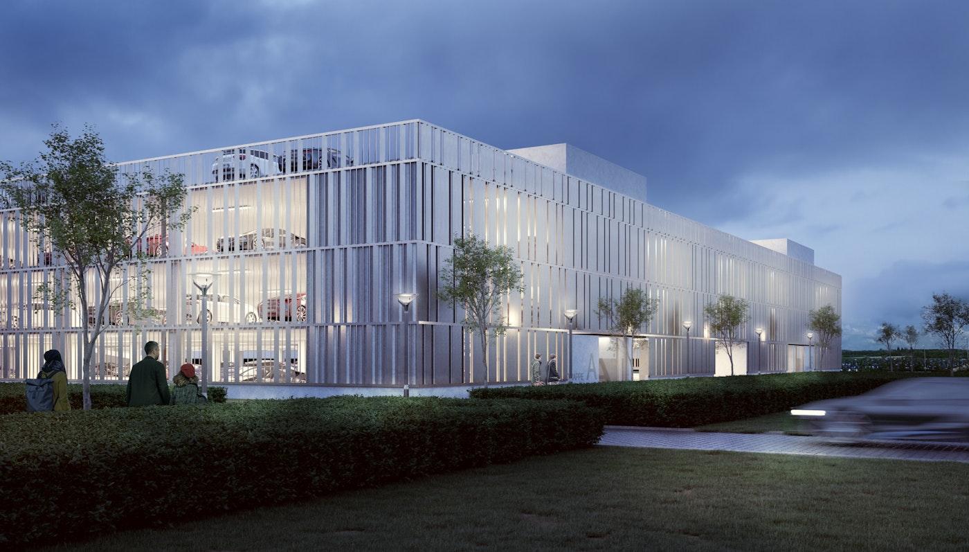 Nyt P-hus til Billund Lufthavn