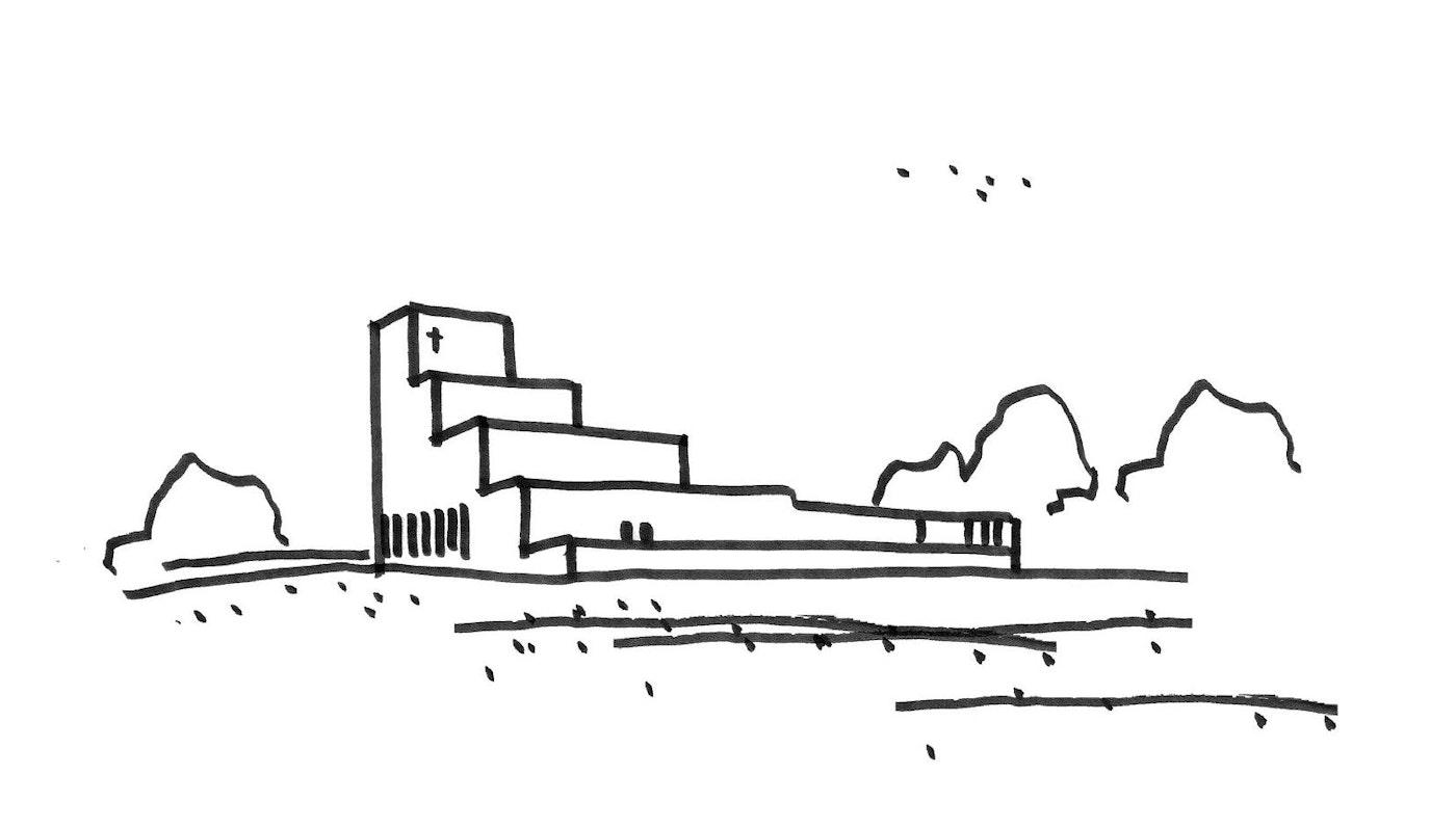 Vinder konkurrence om ny kirke i Hvinningdal