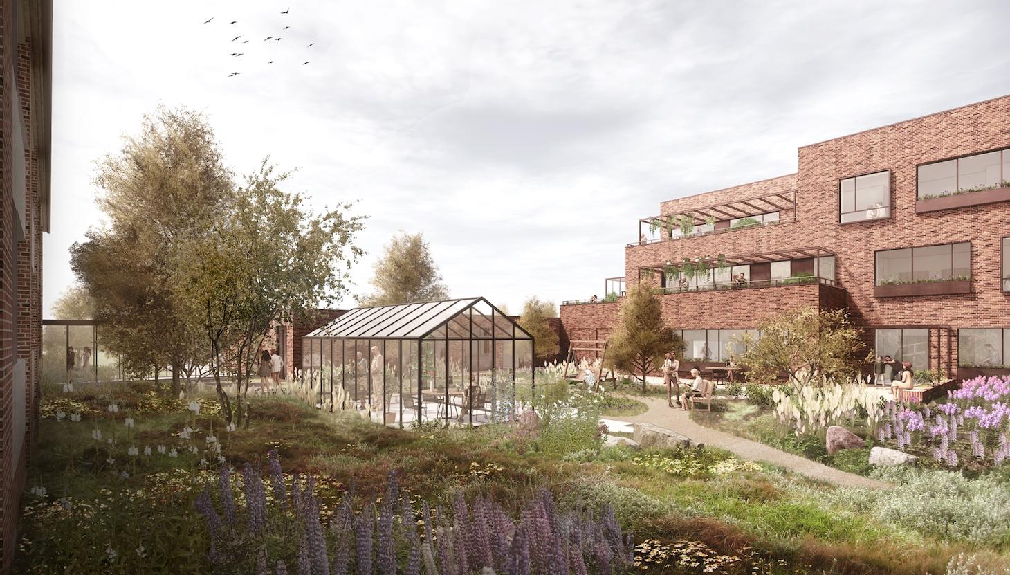 Hørgården Plejeboliger, Aarhus