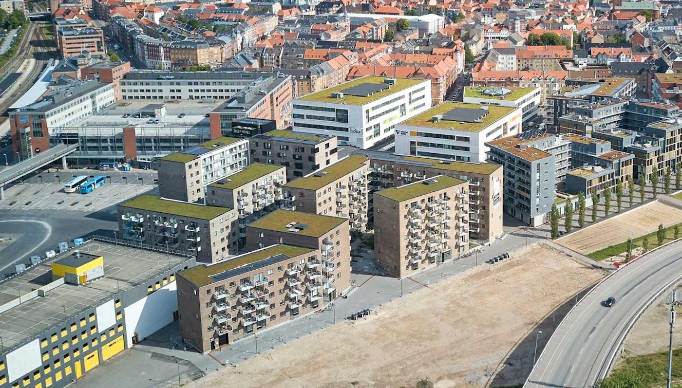 Boliger på Godsbanearealet, Aalborg