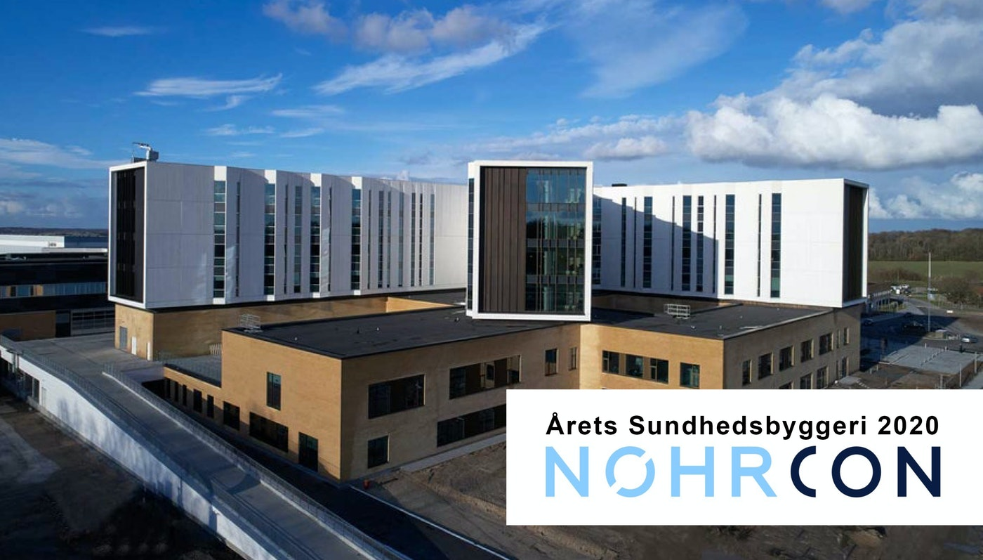 Sønderjyllands Akutsygehus kåret som Årets Sundhedsbyggeri 2020