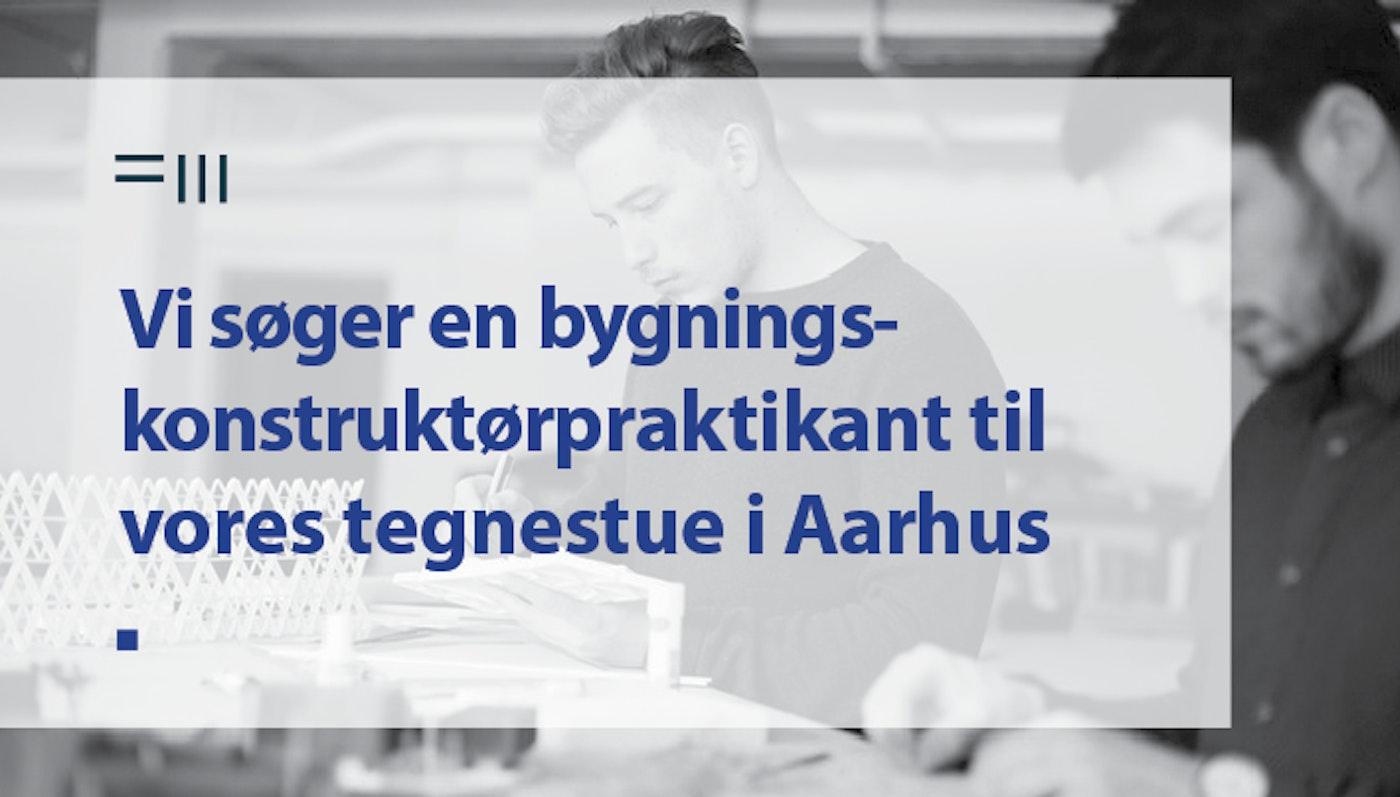 Bygningskonstruktørpraktikant til Aarhus